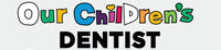 our children's dentist logo 200 by 46 pixels