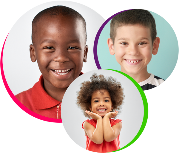 children smiling from pediatric dentistry in Jersey Village tx